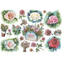 Рисовая бумага «Цветы. Рисунок»
