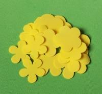 Лепестки из фоамирана желтые