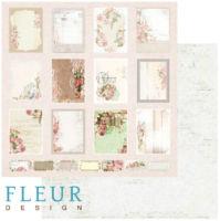 Бумага для скрапбукинга Fleur Design