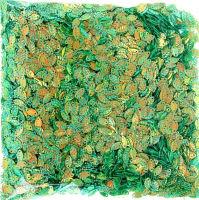 Пайетки зеленые
