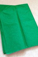 Бумага тишью зеленая