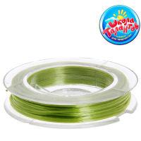 Леска для создания браслетов, растягивающаяся, цвет зеленый