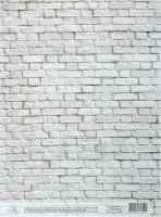 Декупажная карта «Беленая стена»