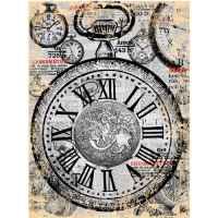 Рисовая бумага «Карманные часы»