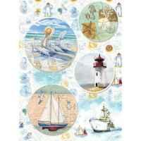 Рисовая бумага «Морское настроение»
