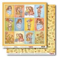 Бумага «Мальчик и девочка. Карточки»