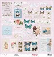 Бумага «Бабочки. Счастье»