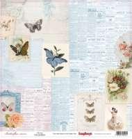 Бумага «Бабочки. Красота»