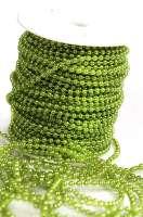Бусины в рулоне «Зеленые» 4 мм.