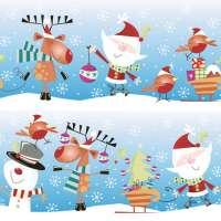 Салфетка «Веселое Рождество» №573