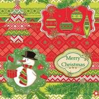 Салфетка «Merry Christmas» №579