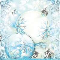 Салфетка «Снежный узор» №597