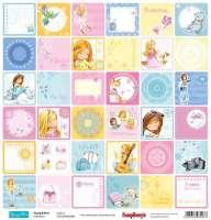 Бумага «Подружки. Карточки 2 Англ.»