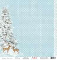 Бумага «Зимнее Утро. Ёлочка»