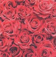 Салфетка «Алые розы»