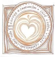 Салфетка «Я люблю кофе»