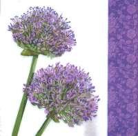 Салфетка «Цветущий лук»