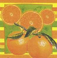 Салфетка «Апельсины»