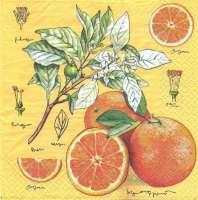 Салфетка «Ботаника. Апельсин»