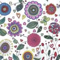 Салфетка «Цветы»