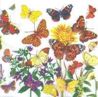 Салфетка «Луговые бабочки»