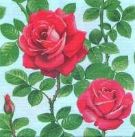Салфетка «Розовый куст»