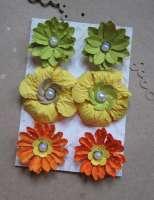 Цветы «Солнечный сад» бумажные
