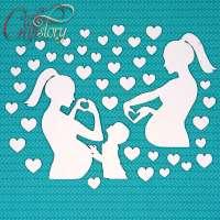 Чипборд «Мама и малыш»