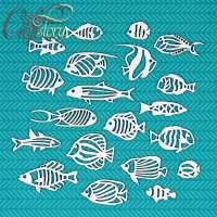 Чипборд «Рыбки» №1
