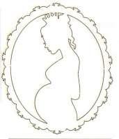 Чипборд «Рамка беременность»