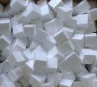 Кубики из пенопласта 5 см.