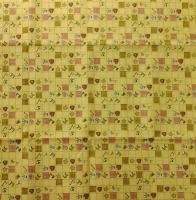 Ткань для пэчворка «Шитье. Желтый»