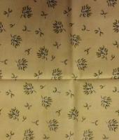 Ткань для пэчворка «Рождественские цветы»