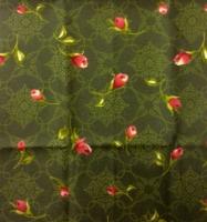 Ткань для пэчворка «Бутоны роз»