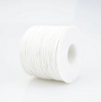 Шнур вощеный 1 мм белый