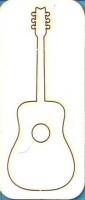 Чипборд «Акустическая гитара»