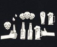 Чипборд «Пора по пиву!»
