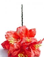 Цветы «Лилии» красные