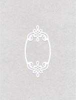 Вырубка «Маленькие рамки» белые