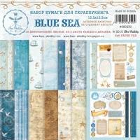 Набор бумаги «BLUE SEA» мини