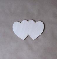 Декоративный элемент «Два сердца»