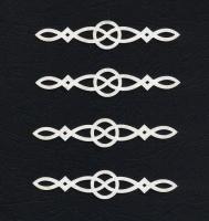 Чипборд «Узор. Накладка» №1