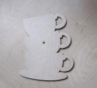 Заготовка для часов «Три чашки»