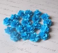 Мини-цветы «Монпансье» ярко-голубые