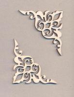 Уголки накладные «Узор №2» из фанеры