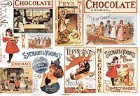Бумага рисовая для декупажа «Шоколад»