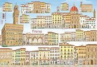 Бумага рисовая для декупажа «Флоренция»
