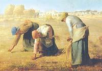 Бумага рисовая для декупажа «Сборщицы колосьев Ж.Милле»