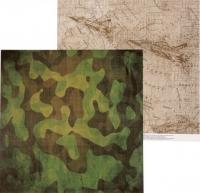 Бумага «Military. Карта действий»