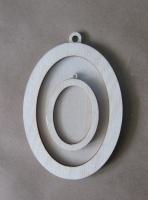 Рамка-медальон овальная №5